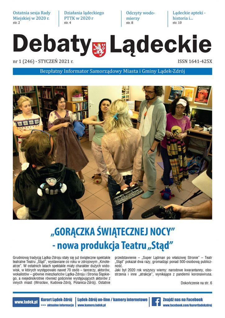 Debaty Lądeckie nr 1/2021 - okładka