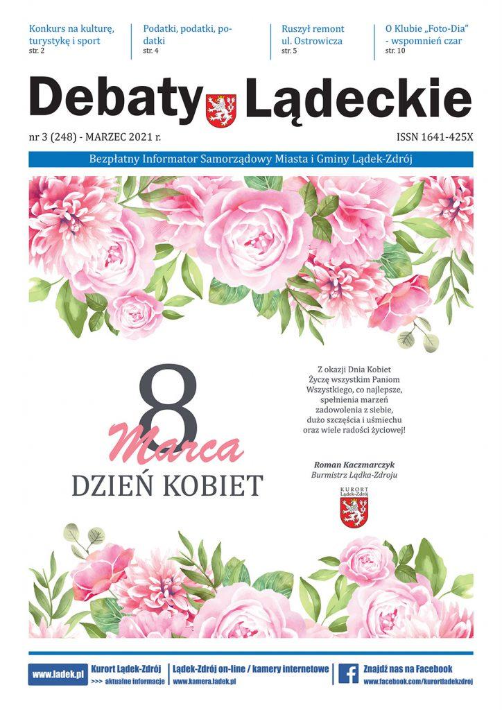 Okładka Debaty Lądeckie nr 3/2021
