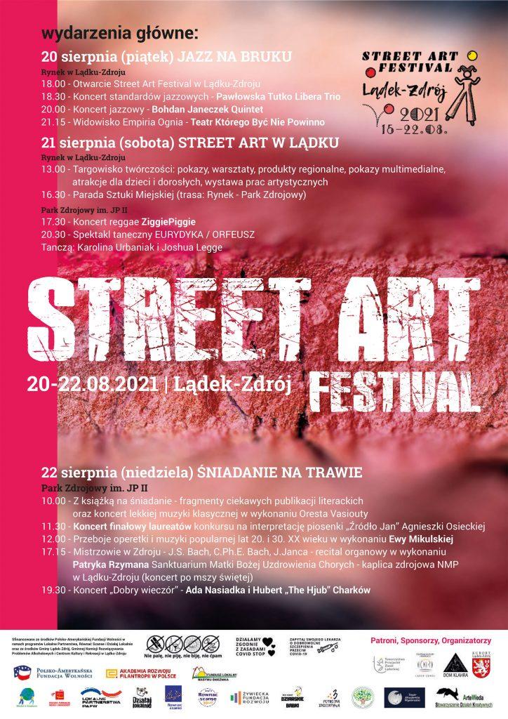 Street Art Festiwal plakat